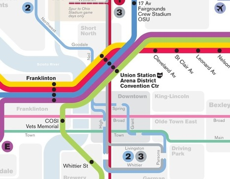 Columbus transit maps — Michael Tyznik | Map@Print | Scoop.it
