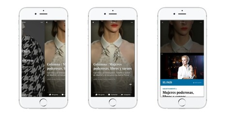 Facebook rolls out Flipboard-y story packages, subscription tests, and video metrics for big publishers | brandjournalism | Scoop.it