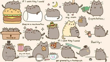 pusheen cat in drawing references and resources