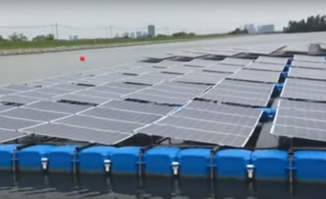 Singapore to Launch World's Largest Floating Solar Panels | Solar Energy projects & Energy Efficiency | Scoop.it
