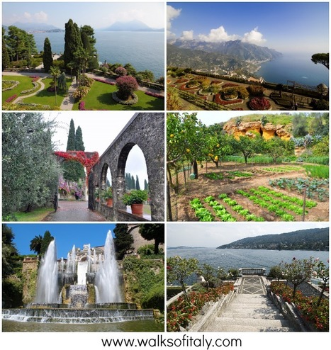 5 of the Most Beautiful Gardens in Italy | Italia Mia | Scoop.it
