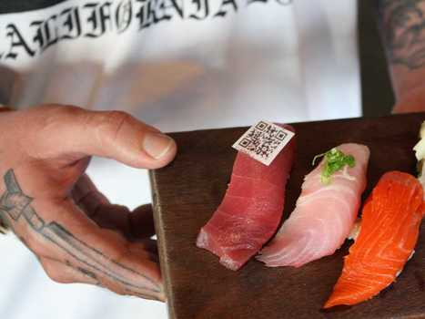 Sushi Chef Creates Edible QR Codes To End 'Fish Fraud' In California Restaurants | On the Plate | Scoop.it