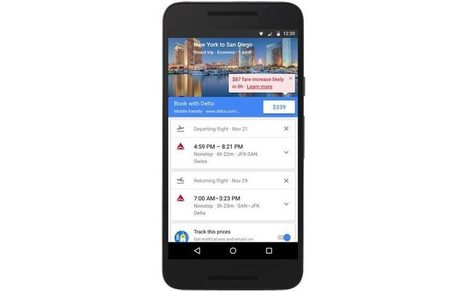 Google will now tell you the cheapest time to buy flights | Mobile: Recruitment and Applications | Scoop.it