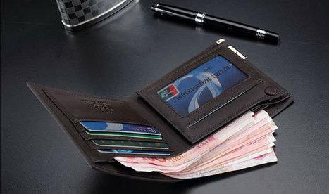 Best black leather wallet in modern designs - Best Wallets 2015 - 2016 | Best bag 2016 | Scoop.it