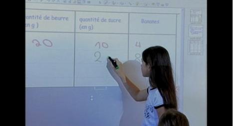 Mathématiques et TNI : Quels usages dans sa pratique de classe et pourquoi ?   TNI PRIM'   Scoop.it