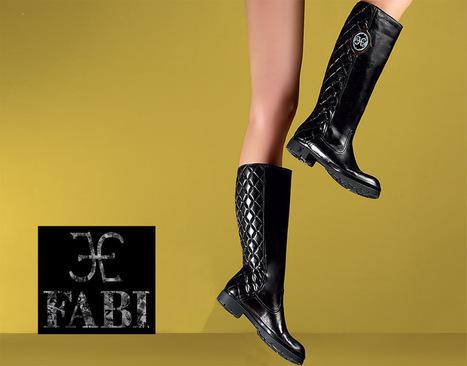 Fabi Shoes & Bags   Matelassé leather bag and boots   Le Marche & Fashion   Scoop.it