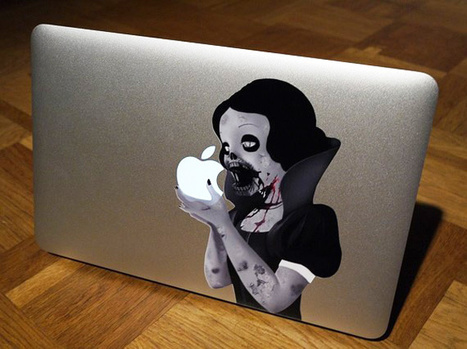 Zombie Snow White MacBook Decal: Freak'em Out Instead of Charmin'em | All Geeks | Scoop.it