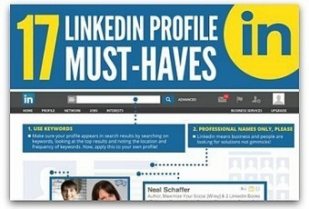 Infographic: 17 must-have features on your LinkedIn profile | Communication Advisory | Scoop.it