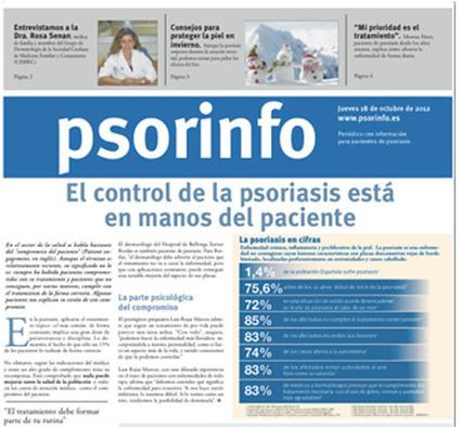 Psorinfo publica su segunda edición de 2012 | healthy | Scoop.it