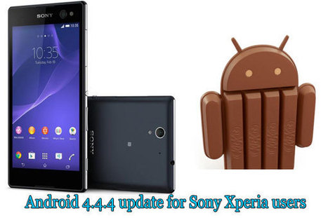 Android 4.4.4 update for Sony Xperia users | Tech Buzz | Scoop.it