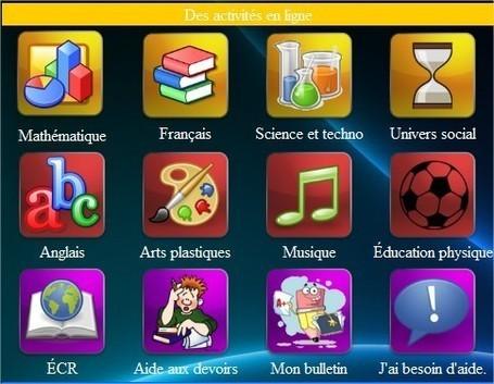 Portail d'accueil pour des élèves du primaire, ressources et activités en ligne   Ressources informatique et classe   Scoop.it
