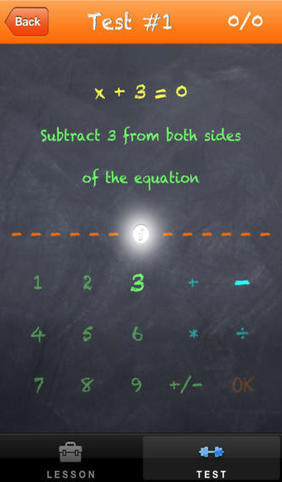 Solving First Degree Equations   21st Century Homeschooling Apps   Scoop.it