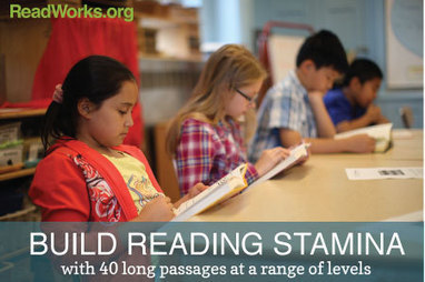 Passages for Building Reading Stamina | CCSS News Curated by Core2Class | Scoop.it