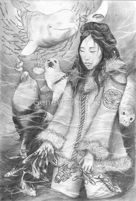 Sedna, Sanna, Mother of the Sea. Mistress of the Sea, Arnapkapfaaluk,