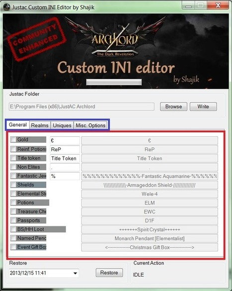 Folkderstagsmetga page 2 scoop archlord item ini editor fandeluxe Choice Image