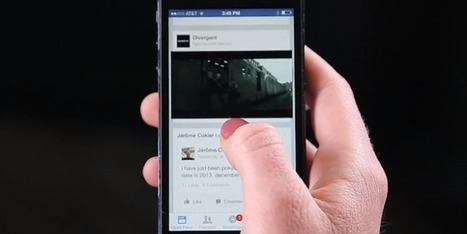 Facebook tests pop-out video that follows you along the newsfeed | Web 2.0 journalism | Scoop.it