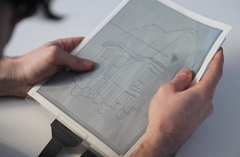 Thin, Flexible PaperTab to Redefine the Tablet : DNews | Reading discovery | Scoop.it