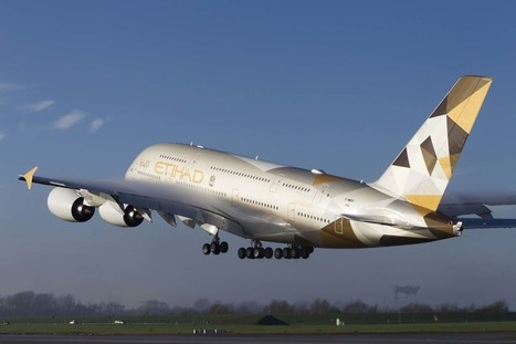Etihad starts flying the A380 | Allplane: Airlines Strategy & Marketing | Scoop.it