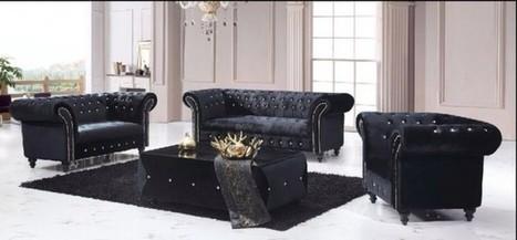 Prime Black Velvet Chesterfield Sofa Uk In Metro Velvet Sofa Gmtry Best Dining Table And Chair Ideas Images Gmtryco