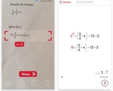 PhotoMath App | Edu-Recursos 2.0 | Scoop.it
