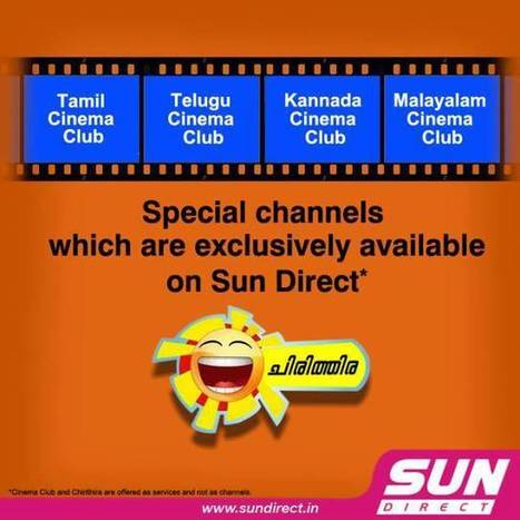 Exclusive Channels Only for Sun Direct Customer