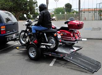 Introducing a True Ride On MotorcycleTrailer | Kendon | Desmopro News | Scoop.it