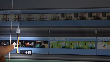 Final Cut Pro Z: Touch to Play  with T.I.M.E (Tactile Interface Movie Editing)   All About Video Streaming   Scoop.it