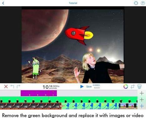 Create Engaging Green Screen Video Projects | idevices for special needs | Scoop.it