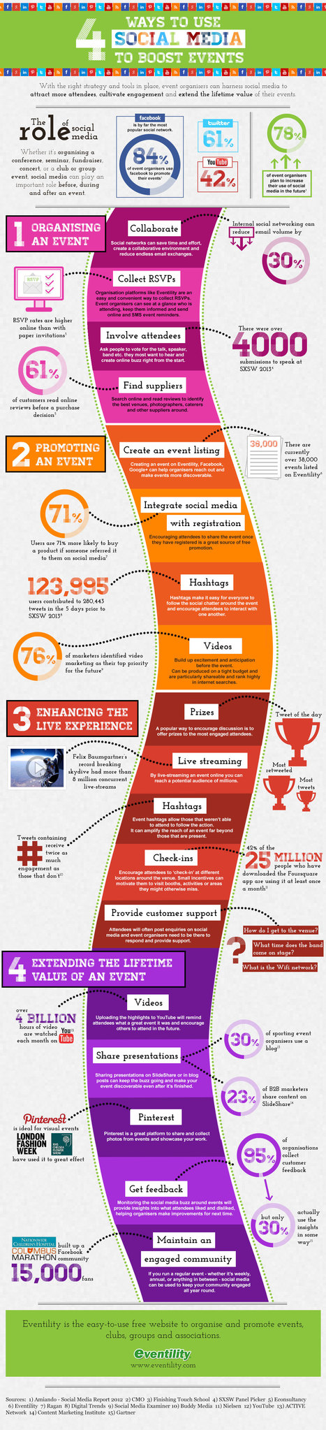 Social media for events [Infographic]   Time to Learn   Scoop.it