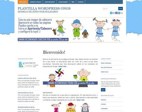 Curso gratis de diseño y promoción de sitios web solidarios (ONGs) | Recursos Web Gratis | Scoop.it