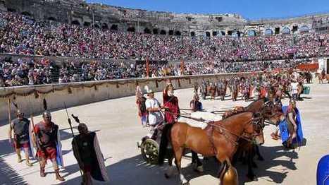 La plus grande bataille navale de l'antiquité reconstituée dans les arènes de Nîmes | Bibliothèque des sciences de l'Antiquité | Scoop.it