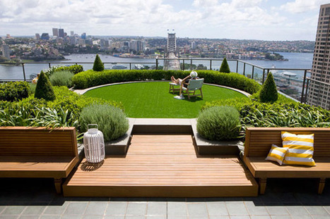 Amazing Rooftop Garden Nestled Between Skyscrapers | Extreme Architecture | News, E-learning, Architecture of the future at news.arcilook.com | Architecture e-learning | Scoop.it