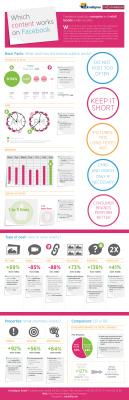 [Infographie] Quels type de contenus sur Facebook en BtoB ? | Information visualization | Scoop.it