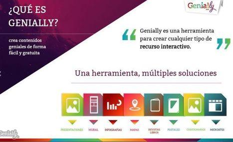 Genially: crea presentaciones, guías, infografías y más | NTICs en Educación | Scoop.it