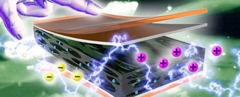 Scientists Have Developed a Material That Generates Electricity Simply by Touching It | Cool Future Technologies | Scoop.it