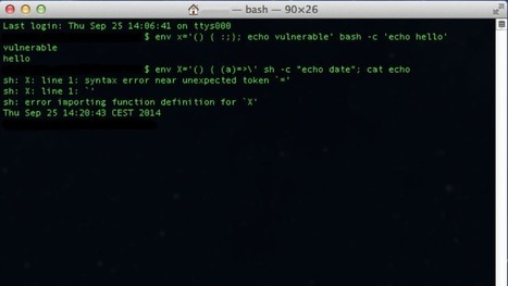 Shellshock: The 'Bash Bug' That Could Be Worse Than Heartbleed To Your Computers Security | All Things Web Design! | Scoop.it