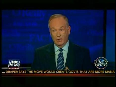 """O'Reilly: ACLU Is """"A Subversive Organization That Wants To Break Down The Structure Of American Law"""" 