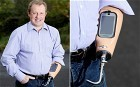 Man gets smartphone dock built into prosthetic arm - Telegraph | Knowmads, Infocology of the future | Scoop.it