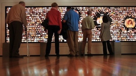 Biggest Interactive Wall in the U.S. Invites Visitors To Touch It | visual data | Scoop.it