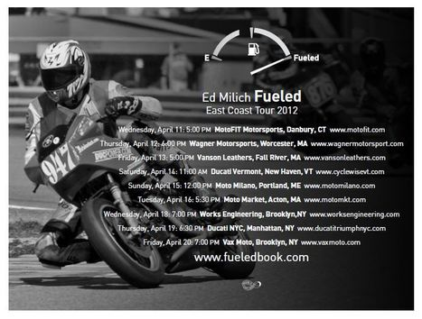 fueledbook.com | Ed Milich | book tour | Ductalk Ducati News | Scoop.it