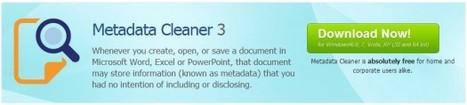 Supprimer les métadonnées d'un document Office, Metadata Cleaner   Time to Learn   Scoop.it