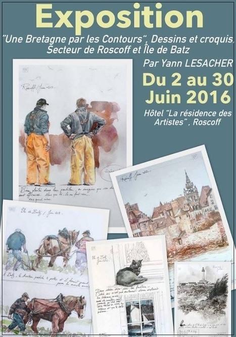 Roscoff - Exposition YAL du 02 Juin au 30 Juin 2016 | Voyages et Gastronomie depuis la Bretagne vers d'autres terroirs | Scoop.it