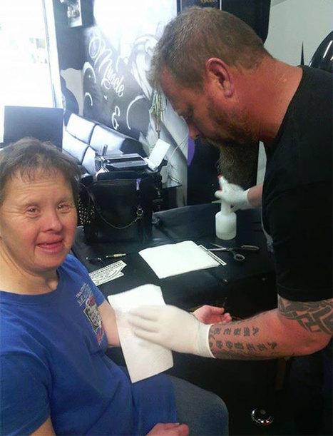 Falešné tetování pro opravdové lidství   Zamilovaný Ptakopysk   Scoop.it