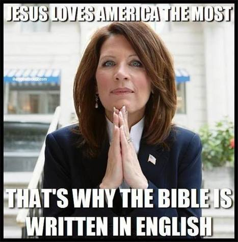 Michele Bachmann Blames Obama For The End Times: 'Christ's Return Emminent' After Iran Nuclear Deal (AUDIO) | Daily Crew | Scoop.it
