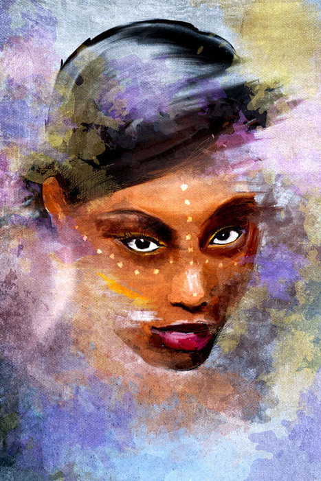 Add a Painterly Effect to a Photo in Photoshop | Photoshop Photo Effects Journal | Scoop.it