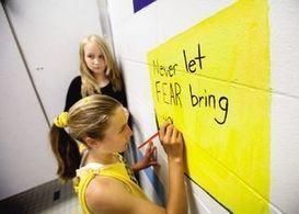 'Beautiful' messages in girls school bathroom counter negative 'self-talk' | Common Core Implementation | Scoop.it