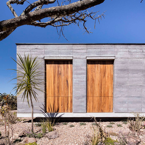 Cherem Arquitectos builds rammed-earth house in Mexican highlands | Today's Modern Architects and Architecture | Scoop.it