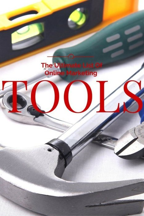 The Ultimate Online Tools List - The Social Ms | World of #SEO, #SMM, #ContentMarketing, #DigitalMarketing | Scoop.it