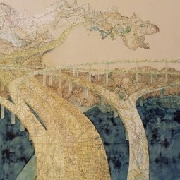 Creative Cartography: 15 Artists Transforming Maps | Urbanist | Geokult | Scoop.it