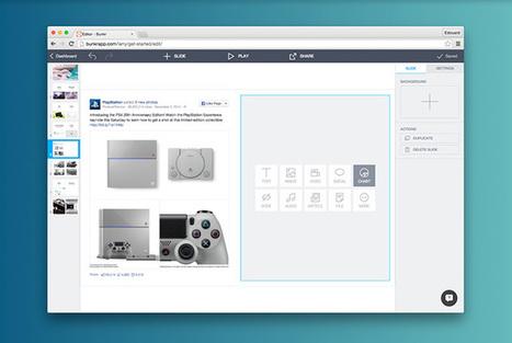 Bunkr - Create presentations with Facebook posts, videos, Vine, Instagram, tweets...   1Site2Day   Scoop.it